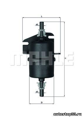 Фильтр топливный Fiat Albea 46416684