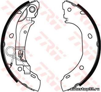 Колодки тормозные задние барабанные Fiat Ducato 77362286, 9949490