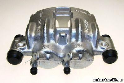 Суппорт тормозной передний левый Fiat Ducato R15 без ABS 77362697, 77364454, 9949413