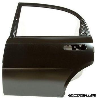 Дверь задняя левая Chevrolet Lacetti хэтчбек 96547907