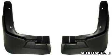 Брызговики передние Chevrolet Lanos 96306140, 96303235