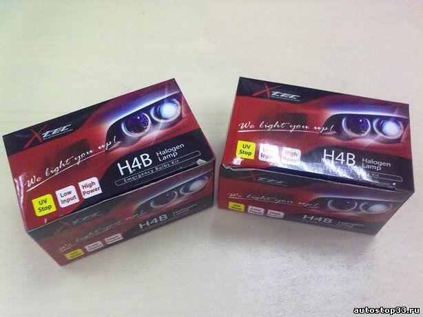 Лампа H4B 12V 60/55W X-Tec AHL 48881B