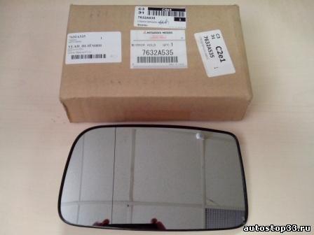 Фото Зеркальный элемент левый без подогрева Mitsubishi Lancer 9 7632A535